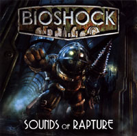 Bioshock: Sounds of Rapture. Передняя обложка. Click to zoom.