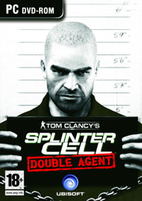 Splinter Cell: Double Agent, Tom Clancy's. Передняя обложка. Click to zoom.