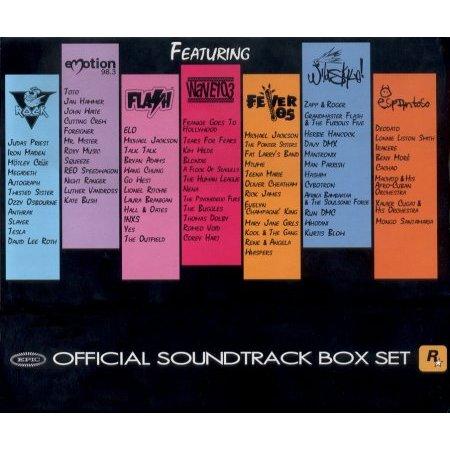 Grand Theft Auto Vice City Soundtrack Box Set