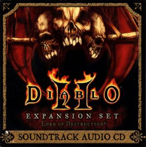 Diablo II: Lord Of Destruction Soundtrack. Передняя обложка. Click to zoom.