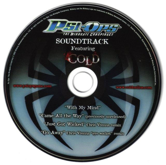 Psi-Ops: The Mindgate Conspiracy Soundtrack музыка из игры