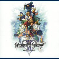 Kingdom Hearts II Original Soundtrack. Передняя обложка. Click to zoom.